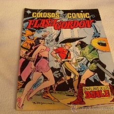 Tebeos: COLOSOS DEL COMIC PRESENTA FLASH GORDON Nº 7, EDITORIAL VALENCIANA. Lote 34204807