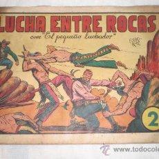 Tebeos: EL PEQUEÑO LUCHADOR Nº 6 FORMATO GRANDE LUCHA ENTRE ROCAS. Lote 34217955
