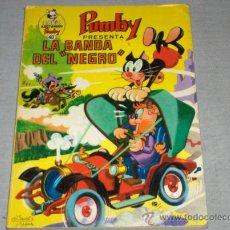 Tebeos: LIBROS ILUSTRADOS PUMBY Nº 40. VALENCIANA 1971 40 PTS. LA BANDA DEL NEGRO. REGALO Nº 19 HIPO ATÓMICO. Lote 34350768