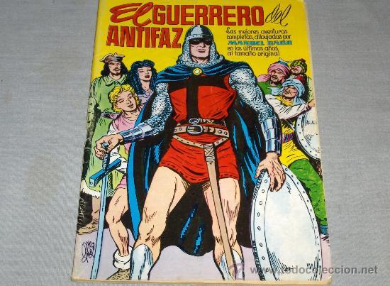 GUERRERO DEL ANTIFAZ LAS MEJORES AVENTURAS COMPLETAS. VALENCIANA 1981. 100 PTS. REGALO Nº 130. (Tebeos y Comics - Valenciana - Guerrero del Antifaz)