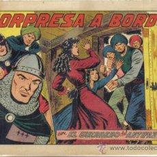 BDs: EL GUERRERO DEL ANTIFAZ Nº 242. SORPRESA A BORDO. VALENCIANA. LITERACOMIC.. Lote 34484894