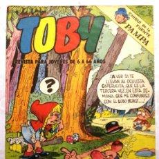Tebeos: TOBY - REVISTA PARA JOVENES DE 6 A 66 AÑOS - . Lote 34514479