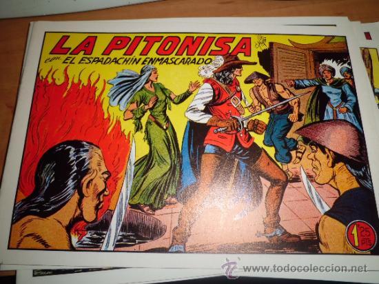 Tebeos: lote 11 comics espadachin enmascarado ed.valenciana ver fotos - Foto 9 - 34546252