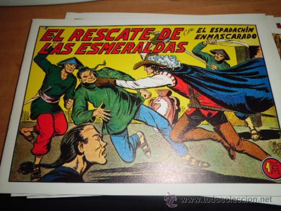 Tebeos: lote 11 comics espadachin enmascarado ed.valenciana ver fotos - Foto 8 - 34546252