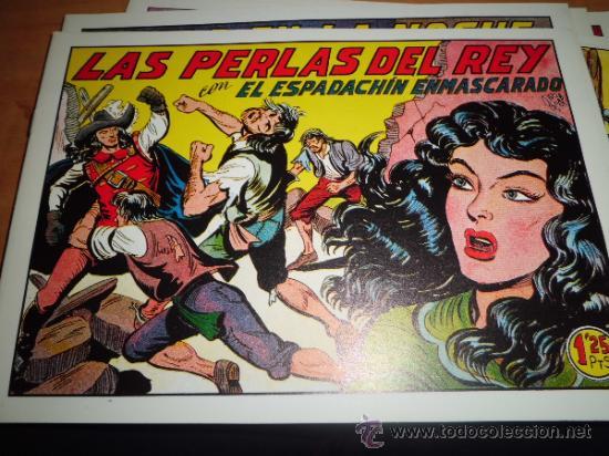 Tebeos: lote 11 comics espadachin enmascarado ed.valenciana ver fotos - Foto 7 - 34546252