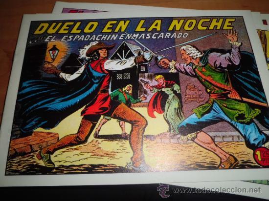 Tebeos: lote 11 comics espadachin enmascarado ed.valenciana ver fotos - Foto 6 - 34546252