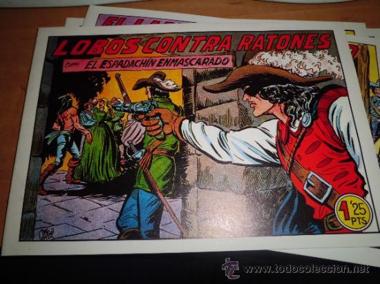 Tebeos: lote 11 comics espadachin enmascarado ed.valenciana ver fotos - Foto 5 - 34546252