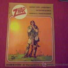 Tebeos: EDITORIAL VALENCIANA - ZHAR Nº 1 INCLUYE POSTER DEL GUERRERO DEL ANTIFAZ. Lote 34689159