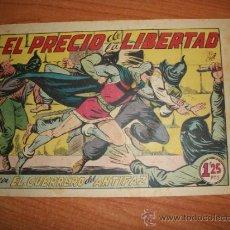Tebeos: EL GUERRERO DEL ANTIFAZ Nº 196 ORIGINAL EDITORIAL VALENCIANA . Lote 35018620
