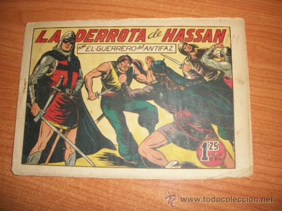 EL GUERRERO DEL ANTIFAZ Nº 111 ORIGINAL EDITORIAL VALENCIANA (Tebeos y Comics - Valenciana - Guerrero del Antifaz)