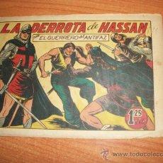 Tebeos: EL GUERRERO DEL ANTIFAZ Nº 111 ORIGINAL EDITORIAL VALENCIANA . Lote 35031561