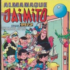 Tebeos: JAIMITO. ALMANAQUE PARA 1972.. Lote 34979391