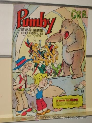PUMBY Nº 1035 EDITORIAL VALENCIANA (Tebeos y Comics - Valenciana - Pumby)