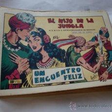 Tebeos: HIJO DE LA JUNGLA Nº 75 EXTRA Y OTROS LOTE DE 40 CUADERNILLOS ORIGINAL. Lote 35064536