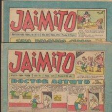Tebeos - Jaimito. Lote de 3 ejemplares: 375,395,412. - 35199556