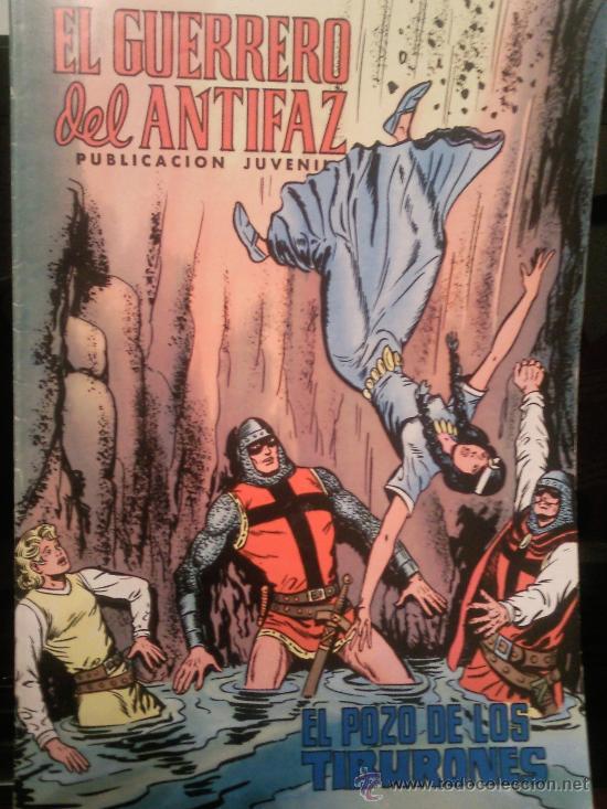GUERRERO DEL ANTIFAZ COLECCION DE 120 COMICS AÑOS 70 (VER RELACIÓN)TAMBIEN VENDERIA SUELTOS (Tebeos y Comics - Valenciana - Guerrero del Antifaz)
