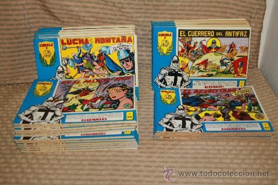 2273- EL GUERRERO DEL ANTIFAZ. HOMENAJE A GAGO EDIT. VALENCIANA. 35 NUMEROS. 1981 (Tebeos y Comics - Valenciana - Guerrero del Antifaz)