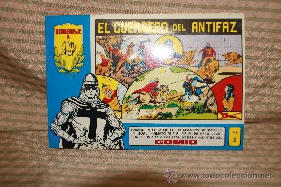 Tebeos: 2273- EL GUERRERO DEL ANTIFAZ. HOMENAJE A GAGO EDIT. VALENCIANA. 35 NUMEROS. 1981 - Foto 2 - 35282416