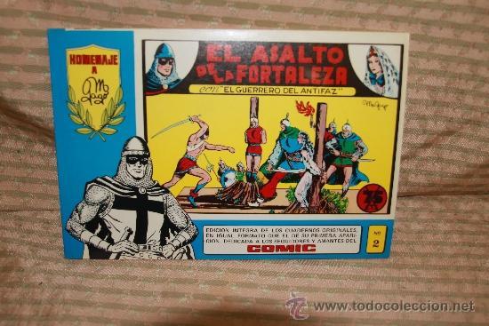 Tebeos: 2273- EL GUERRERO DEL ANTIFAZ. HOMENAJE A GAGO EDIT. VALENCIANA. 35 NUMEROS. 1981 - Foto 3 - 35282416