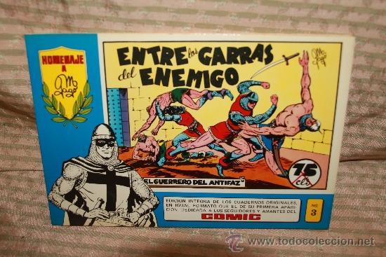Tebeos: 2273- EL GUERRERO DEL ANTIFAZ. HOMENAJE A GAGO EDIT. VALENCIANA. 35 NUMEROS. 1981 - Foto 4 - 35282416