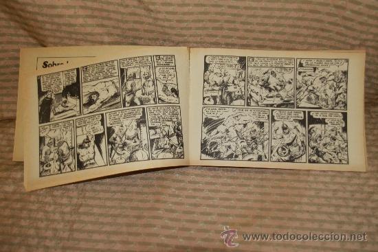 Tebeos: 2273- EL GUERRERO DEL ANTIFAZ. HOMENAJE A GAGO EDIT. VALENCIANA. 35 NUMEROS. 1981 - Foto 5 - 35282416