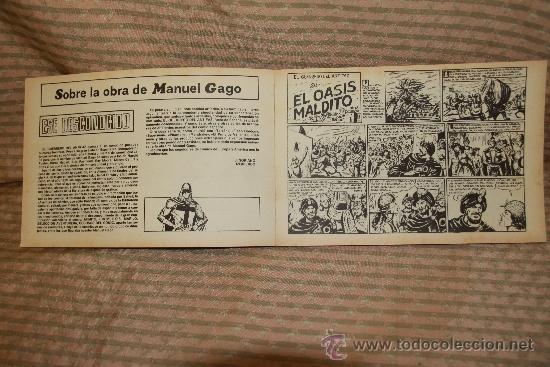 Tebeos: 2273- EL GUERRERO DEL ANTIFAZ. HOMENAJE A GAGO EDIT. VALENCIANA. 35 NUMEROS. 1981 - Foto 7 - 35282416
