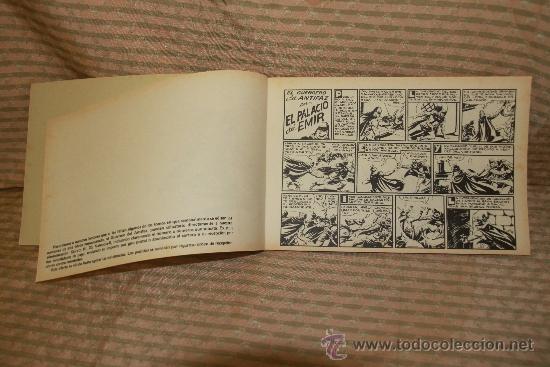 Tebeos: 2273- EL GUERRERO DEL ANTIFAZ. HOMENAJE A GAGO EDIT. VALENCIANA. 35 NUMEROS. 1981 - Foto 8 - 35282416