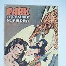 Tebeos: * PURK EL HOMBRE DE PIEDRA. Nº 6 LA GALERÍA DE LA MUERTE. SELECCIÓN EDIVAL AVENTURERA. EDIVAL, 1974. Lote 35370184