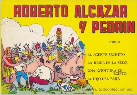 ROBERTO ALCAZAR Y PEDRIN - TOMO 3 Nº 9 A 12. EDITORA VALENCIANA 1981 (Tebeos y Comics - Valenciana - Roberto Alcázar y Pedrín)