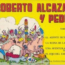 Tebeos: ROBERTO ALCAZAR Y PEDRIN - TOMO 3 Nº 9 A 12. EDITORA VALENCIANA 1981. Lote 35385983