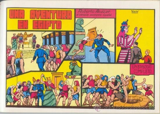 Tebeos: Roberto Alcazar y Pedrin - Tomo 3 Nº 9 a 12. Editora Valenciana 1981 - Foto 4 - 35385983