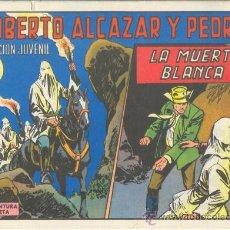 Tebeos: ROBERTO ALCÁZAR Y PEDRÍN. LA MUERTE BLANCA. Nº 1164 EDIVAL S.A. 1975. Lote 35386061