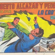 Tebeos: ROBERTO ALCÁZAR Y PEDRÍN. LA CARTA. Nº 1185 EDIVAL S.A. 1975. Lote 35386100