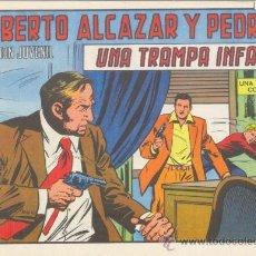 Tebeos: ROBERTO ALCÁZAR Y PEDRÍN. LA TRAMPA INFAME. Nº 1186 EDIVAL S.A. 1975. Lote 35386120