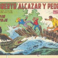 Tebeos: ROBERTO ALCÁZAR Y PEDRÍN. FURIA SALVAJE. Nº 1194 EDIVAL S.A. 1975. Lote 35386156