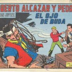 Tebeos: ROBERTO ALCÁZAR Y PEDRÍN. EL OJO DE BUDA. Nº 1206 EDIVAL S.A. 1975. Lote 35386211
