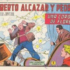 Tebeos: ROBERTO ALCÁZAR Y PEDRÍN. UNA CORONA DE FLORES. Nº 1209 EDIVAL S.A. 1975. Lote 35386218