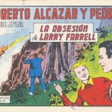 Tebeos: ROBERTO ALCÁZAR Y PEDRÍN. LA OBSESIÓN DE LARRY FARRELL. Nº 1214 EDIVAL S.A. 1975. Lote 35386229
