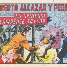 Tebeos: ROBERTO ALCÁZAR Y PEDRÍN. LA AMNESIA DE LAWRENCE TAYLOR. Nº 1215 EDIVAL S.A. 1976. Lote 35386236