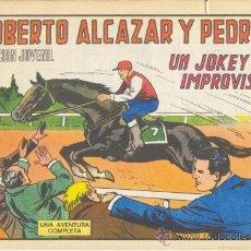 Tebeos: ROBERTO ALCÁZAR Y PEDRÍN. UN KOCKEY IMPROVISADO. Nº 1217 EDIVAL S.A. 1976. Lote 35386243