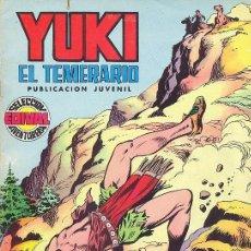Tebeos: YUKI, EL TEMERARIO Nº 6. Lote 35418812