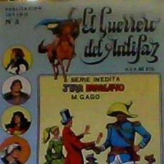 Tebeos: EL GUERRERO DEL ANTIFAZ Nº 3 SERIE INEDITA. Lote 111905895