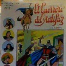 Tebeos: EL GUERRERO DEL ANTIFAZ Nº 7 SERIE INEDITA. Lote 35435298