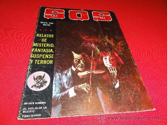 Sos Nº 22 2ª Epoca El Violin De La Muerte Comprar Tebeos S O S Editorial Valenciana En Todocoleccion 35458269