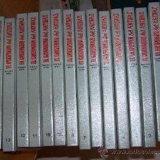 BDs: EL GUERRERO DEL ANTIFAZ III 3ª SERIE COMPLETA 14 TOMOS. Lote 192788657