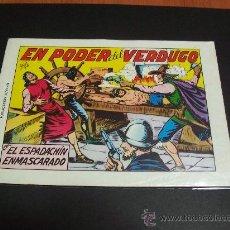 Tebeos: EL ESPADACHIN ENMASCARADO - Nº 8 - EN PODER DEL VERDUGO. Lote 35589500