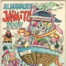 Tebeos: JAIMITO ALMANAQUE 1967 - EDI. VALENCIANA ORIGINAL. Lote 35591774