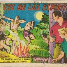 Tebeos: ROBERTO ALCÁZAR Y PEDRÍN - Nº 586 - LA VOZ DE LOS ESPÍRITUS - AÑO 1963. Lote 194700355