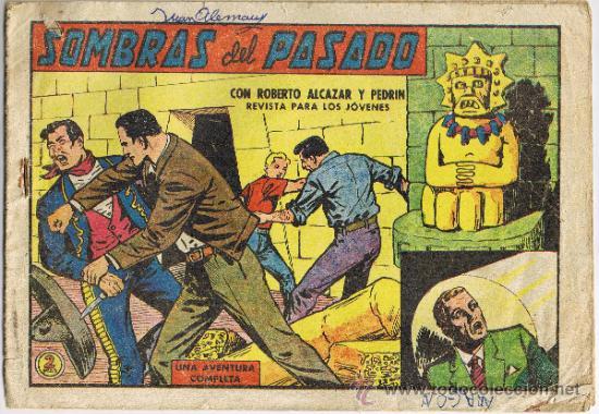 ROBERTO ALCÁZAR Y PEDRÍN - Nº 560 - SOMBRAS DEL PASADO - AÑO 1963 (Tebeos y Comics - Valenciana - Roberto Alcázar y Pedrín)