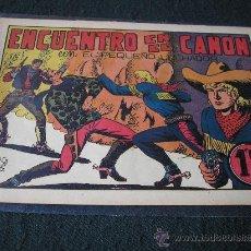 Tebeos: EL PEQUEÑO LUCHADOR Nº 29. ENCUENTRO EN EL CAÑÓN. Lote 35650164